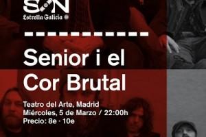Senior i El Cor Brutal_Poster