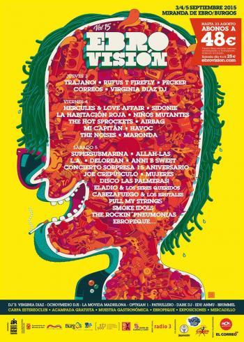 cartel por dias ebrovision 2015