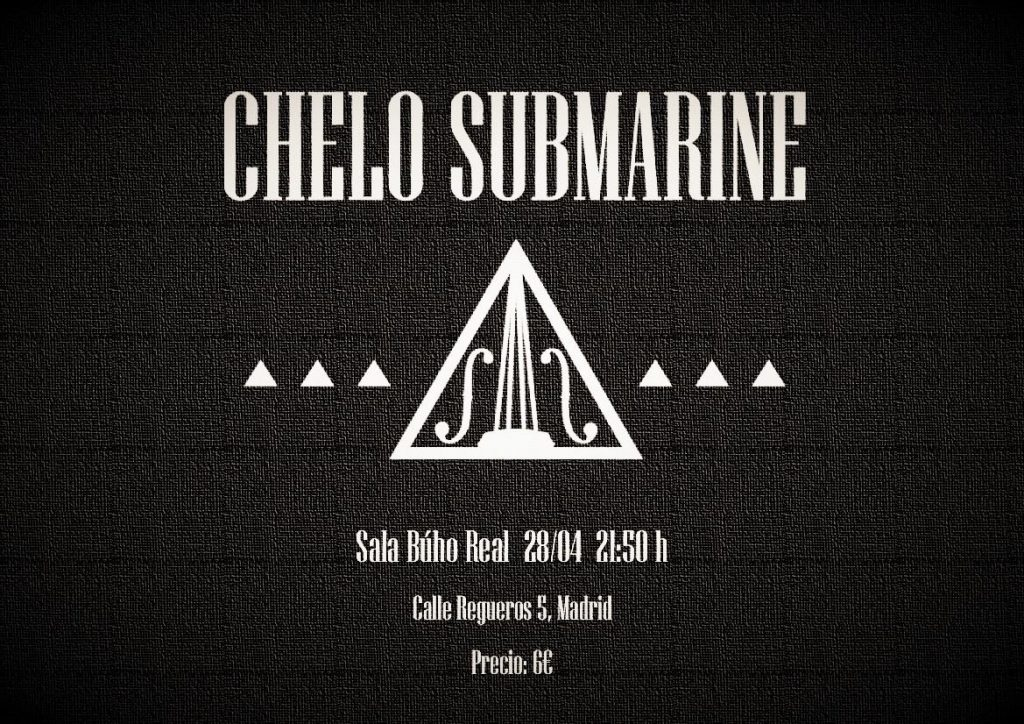 Concierto Chelo Submarine Madrid