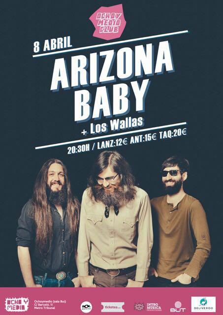 Concierto Arizona Baby Madrid