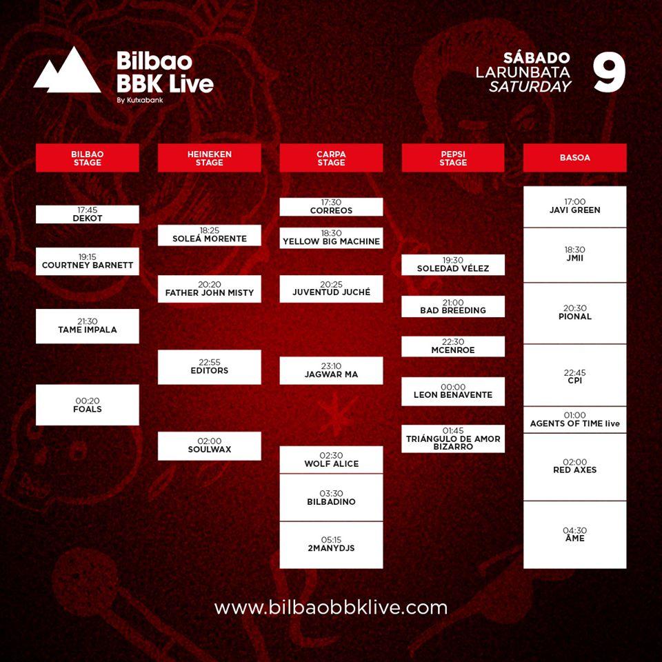 horarios bbk live 2016 notedetengas magazine