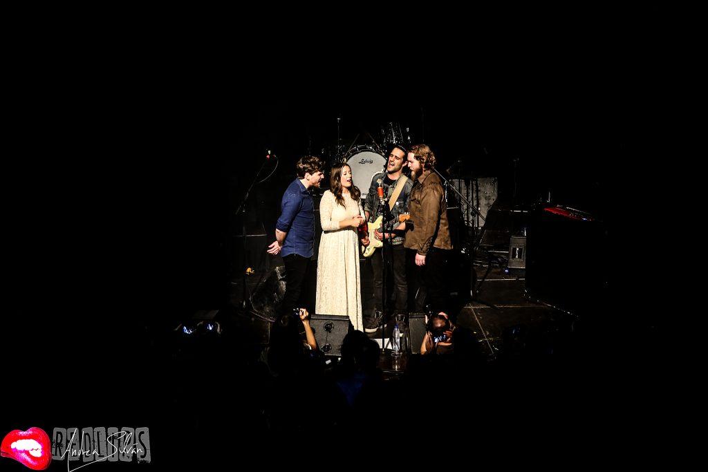 Concierto de Morgan. Febrero 2017. Sala Joy Eslava (Madrid). Foto cedida por Andrea Silván