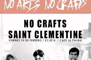 no crafts y saint clementine en café la palma