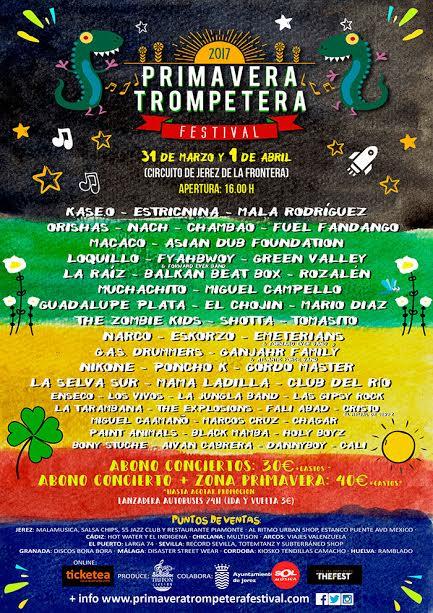 cartel primavera trompetera 2017