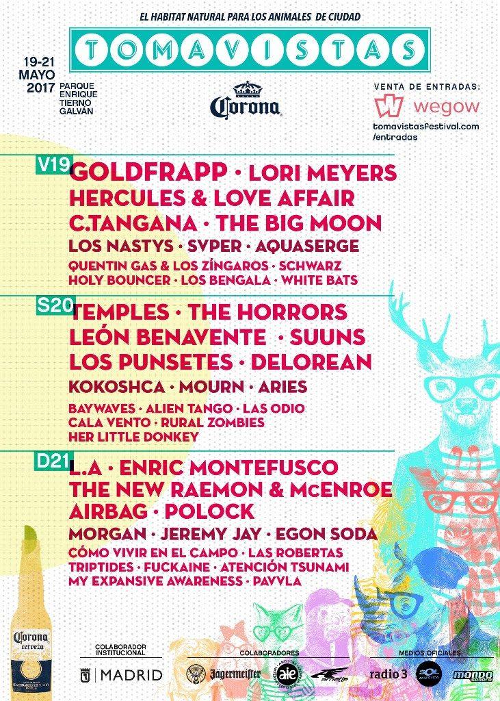 tomavistas festival programación por días 2017
