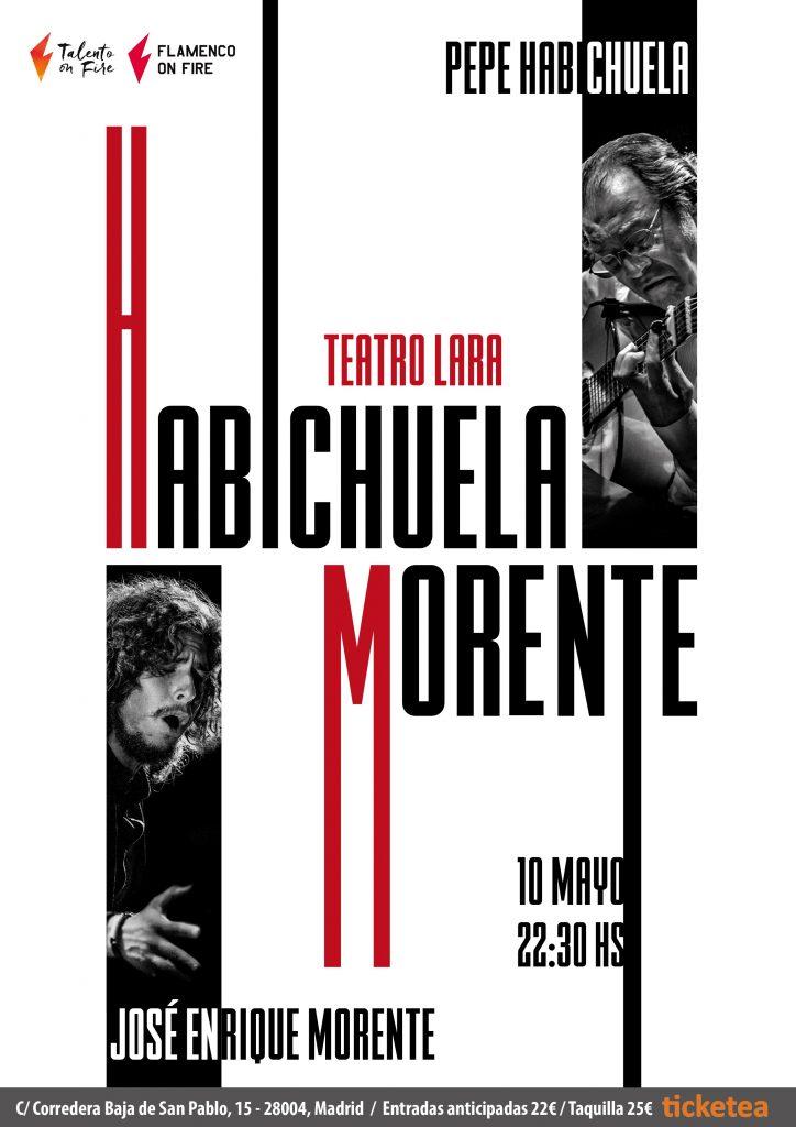 Habichuela y Morente en Madrid