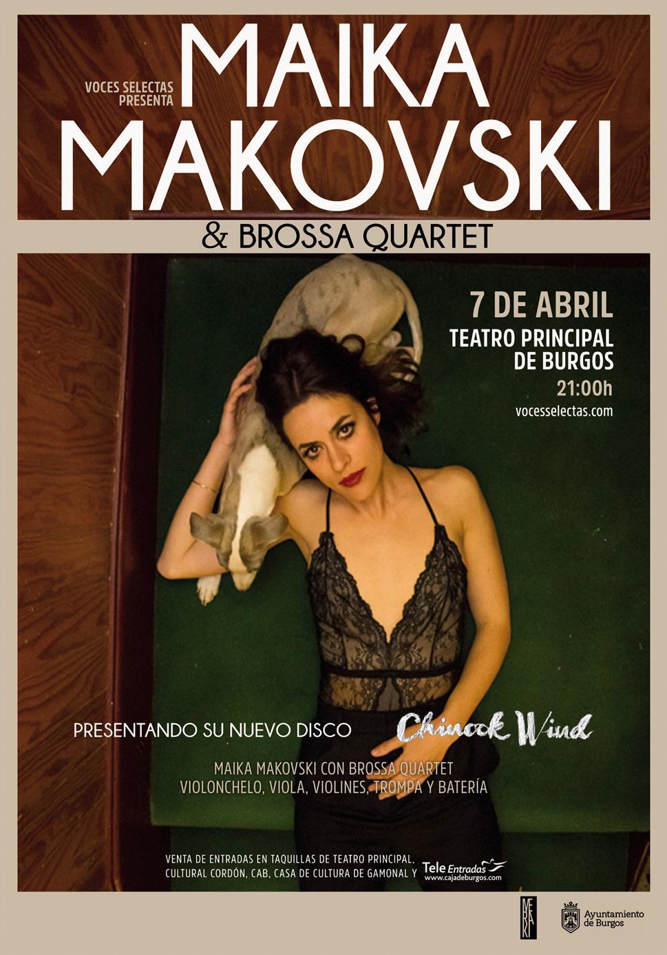 Maika Makovski en Burgos