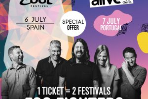 Foo Fighters 100 entradas Mad Cool y NOS Alive 2017