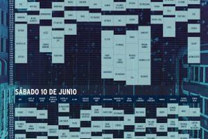 Horarios del viernes y sábado para BALLANTINE´S TRUE MUSIC FESTIVAL madrid