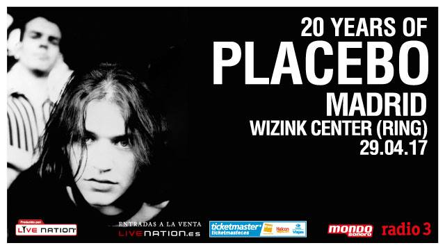 Placebo Wizink Center Madrid 2017 Madrid