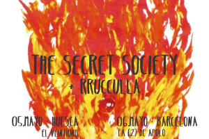 the secret society presenta 'hacemos ruído al rompernos' en Barcelona y Huesca
