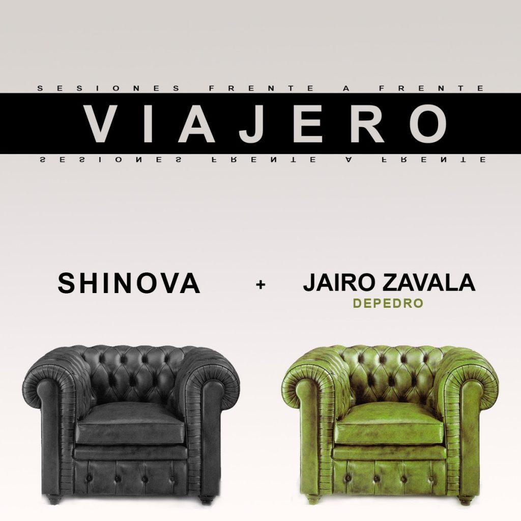 Shinova y Jairo Zavala (Depedro) juntos en Viajero