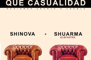 shuarma y shinova comparten 'Qué Casualidad' incluído en volver