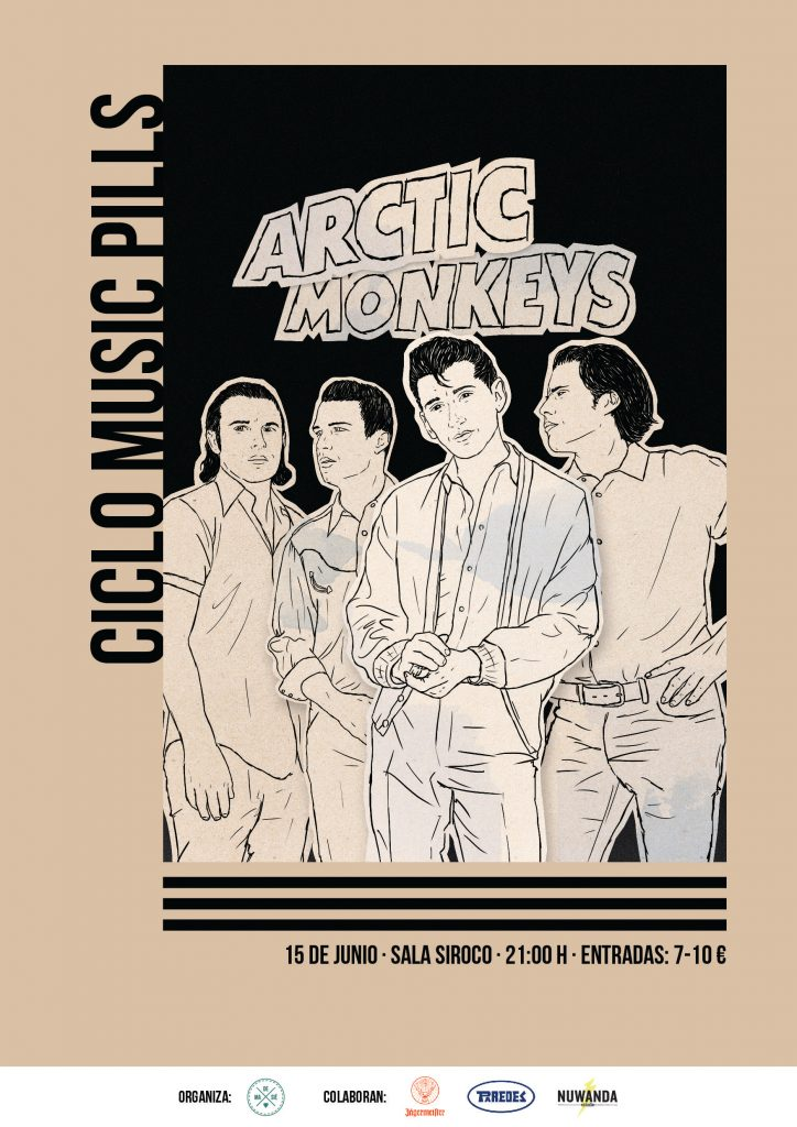 MUSIC PILL MADRID HOMENAJE A ARCTIC MONKEYS EN SALA SIROCO