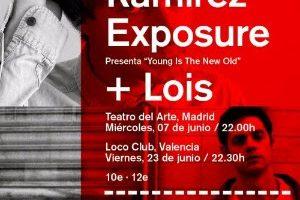 lois y Ramirez Exposure estarán en Teatro del Arte con Son Estrella Galicia