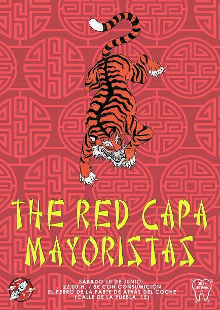 rookie producciones y tuzz records traen a Mayoristas y The Red Capa
