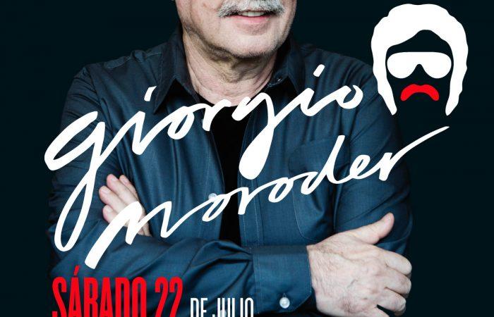 Giorgio Moroder y Delaporte en Madrid dentro de Noches del Botánico.