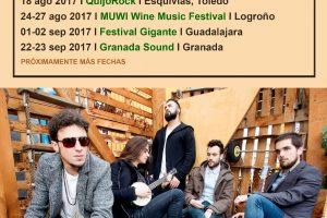 Shinova continúa de gira en festivales durante 2017