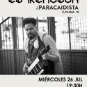 el remolón actuará gratis en Madrid en la terraza de El Paracaidista