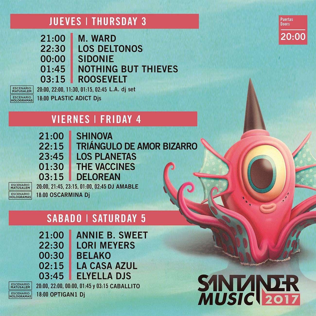 santander-music-horarios