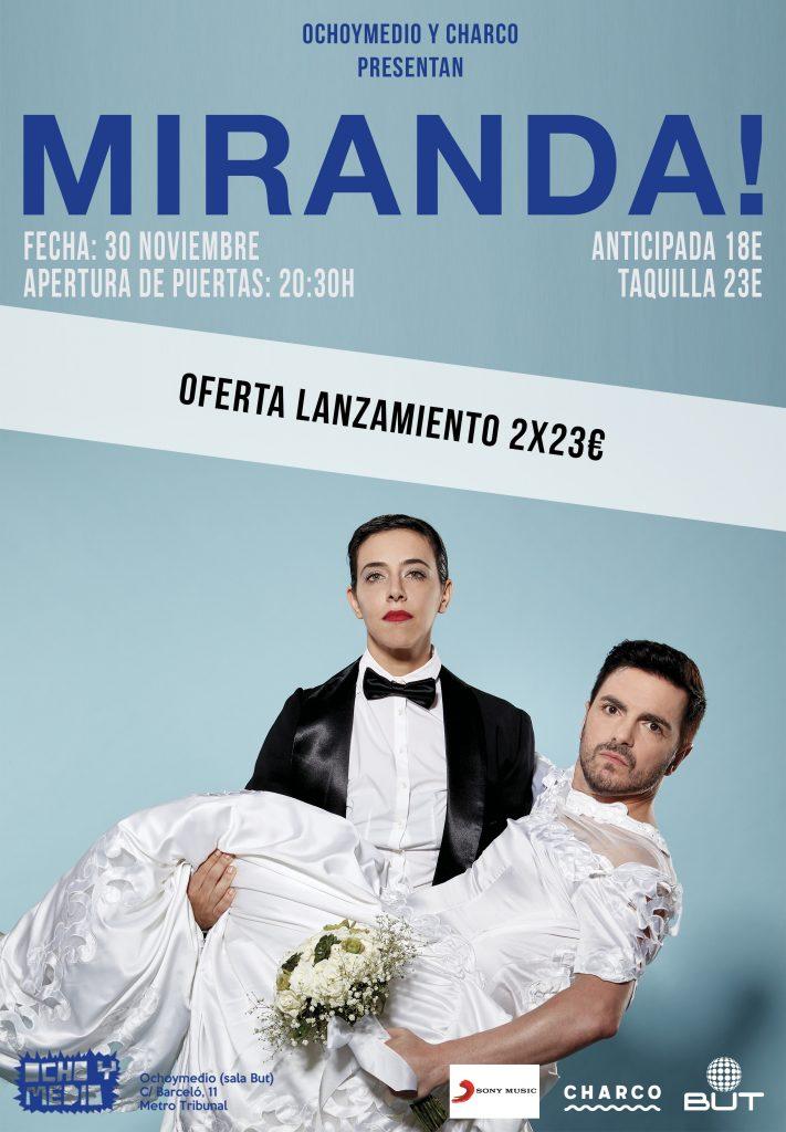 Miranda en concierto en Madrid
