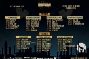 horarios festival gigante guadalajara 2017