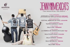 jenny and the mexicats de gira en Otoño