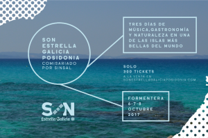 son estrella galicia posidonia en Formentera