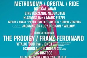 Cartel Completo BIME 2017 con Melange, Franz Ferdinand, Orbital y más