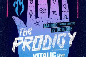 NEGUA en Madrid con The prodigy, idles y Vitalic el 27 de octubre.