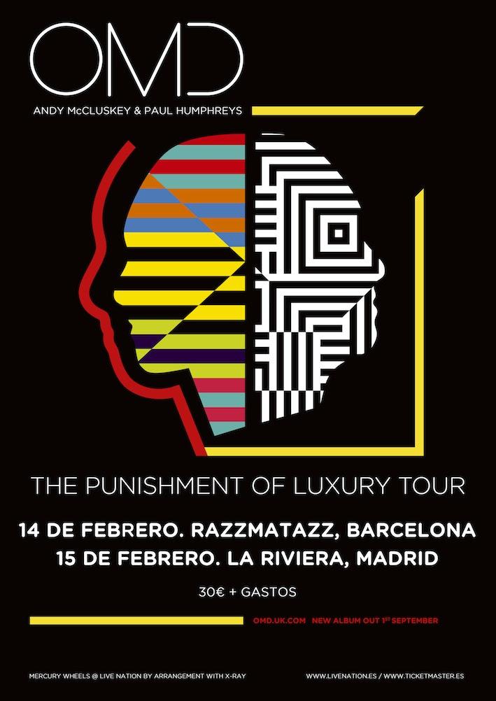 OMD de gira en Madrid y Barcelona en 2018
