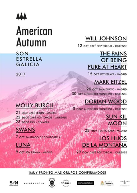 Cartel del american autumn 2017