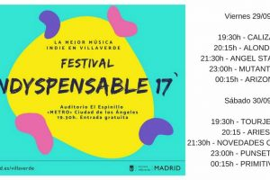 indyspensable horarios 2017 Madrid