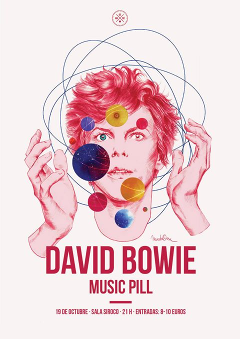 music pill david bowie homenaje en sala Siroco