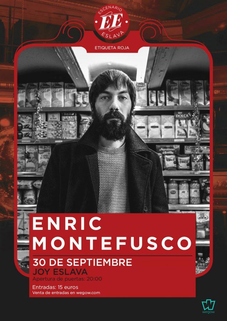 Concierto Enric Montefusco en Madrid 30 de septiembre