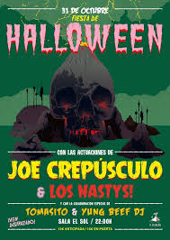 joe crepusculo  halloween sala sol madrid