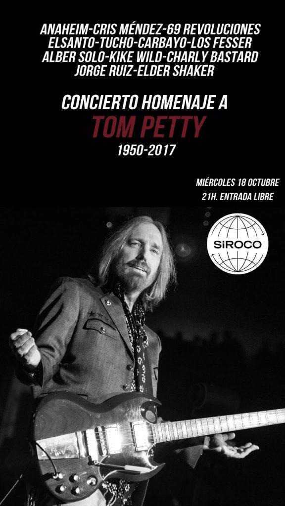 tom petty homenaje en sala Siroco Madrid