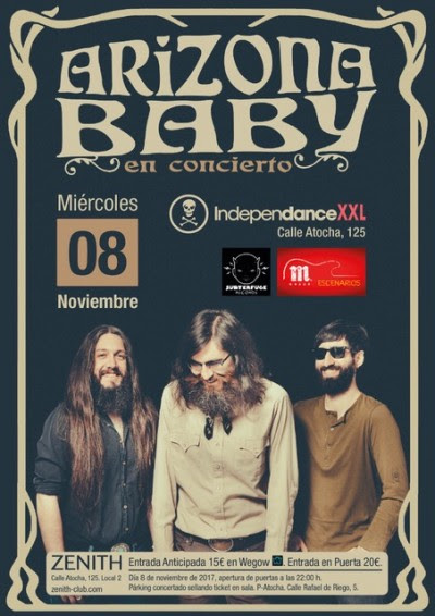 arizona baby concierto madrid secret fires
