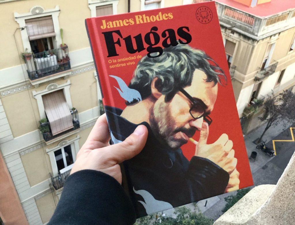 Fugas, nuevo libro de James Rhodes.