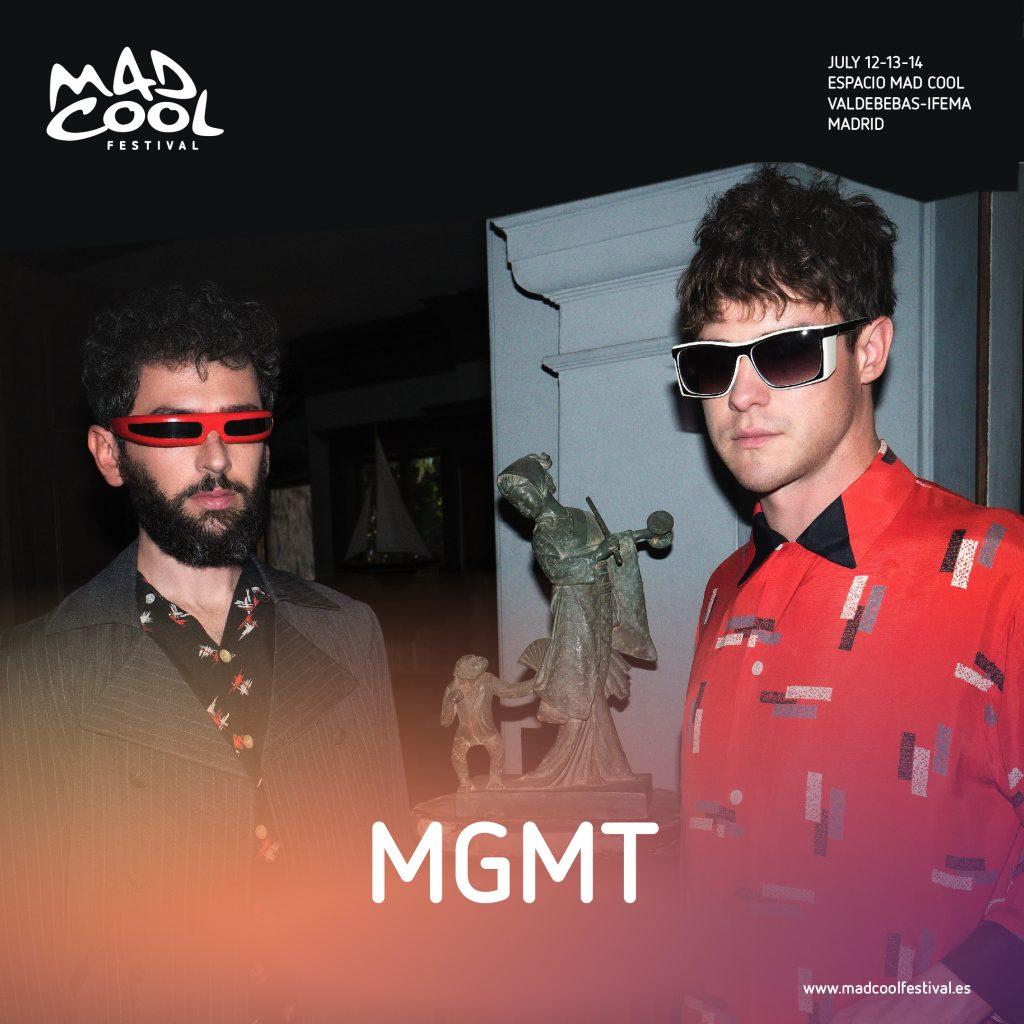 MGMT se suma al cartel de Mad Cool 2018