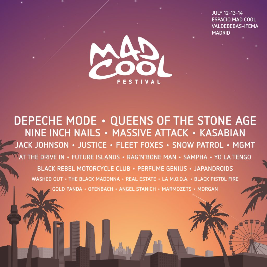Mad Cool confirma a Sampha, perfume genius, morgan y más
