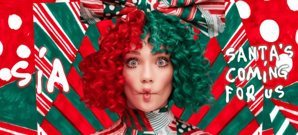 Sia Santa´s coming for us