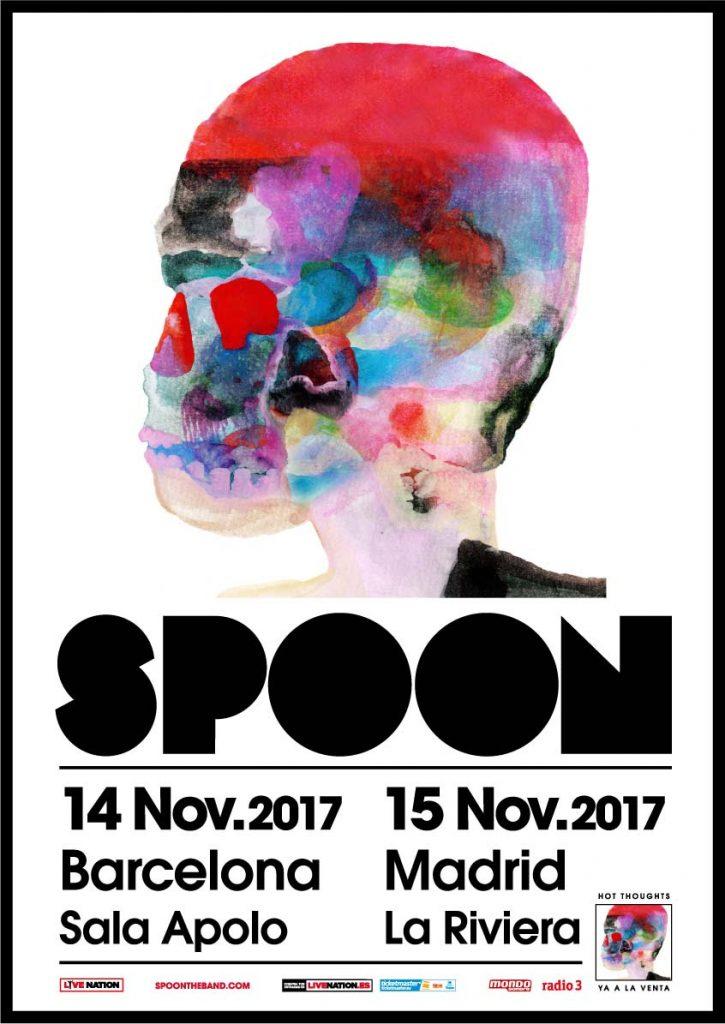 Spoon presentan Hot Thoughts en Madrid y Barcelona a mediados de noviembre