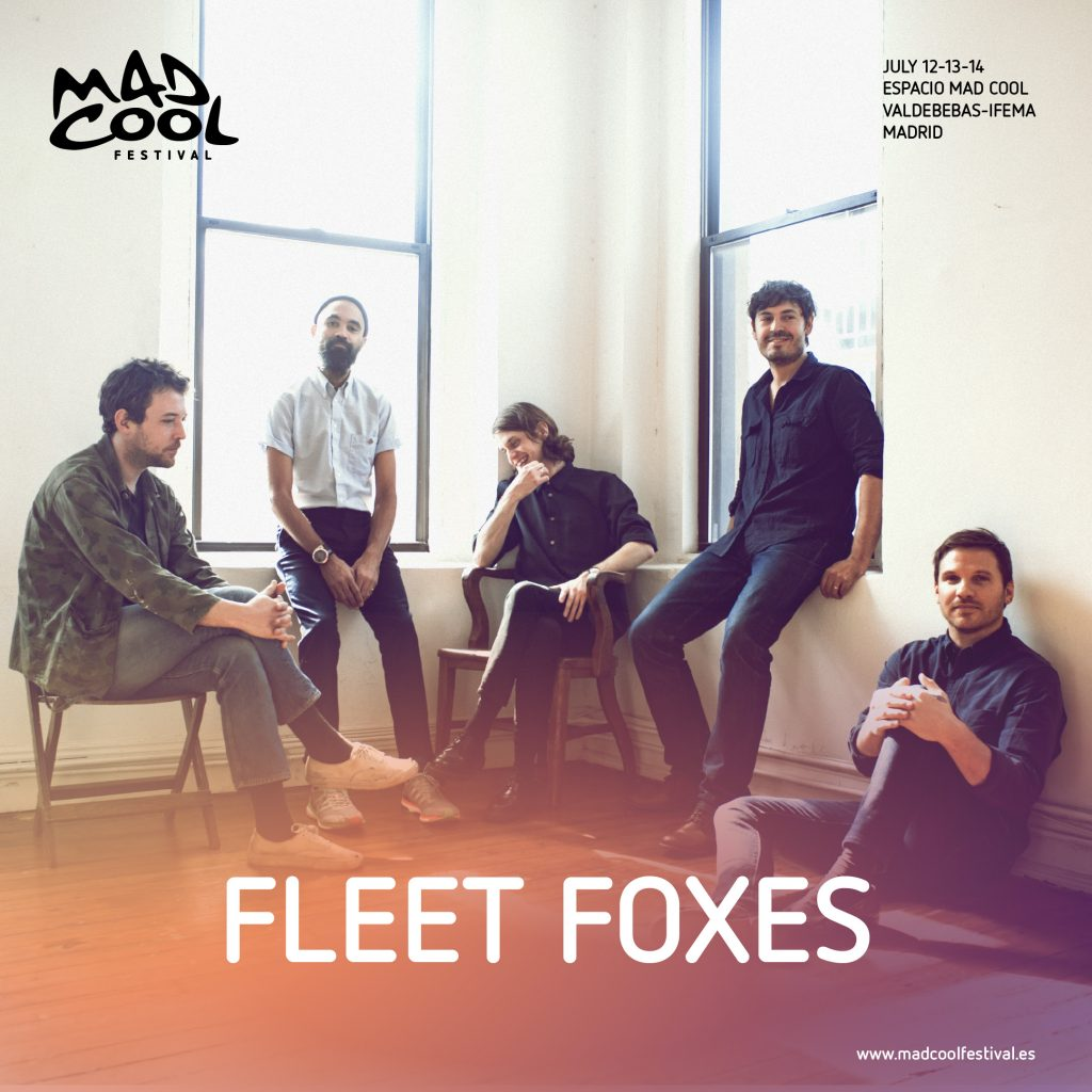 fleet foxes mad cool festival crack up