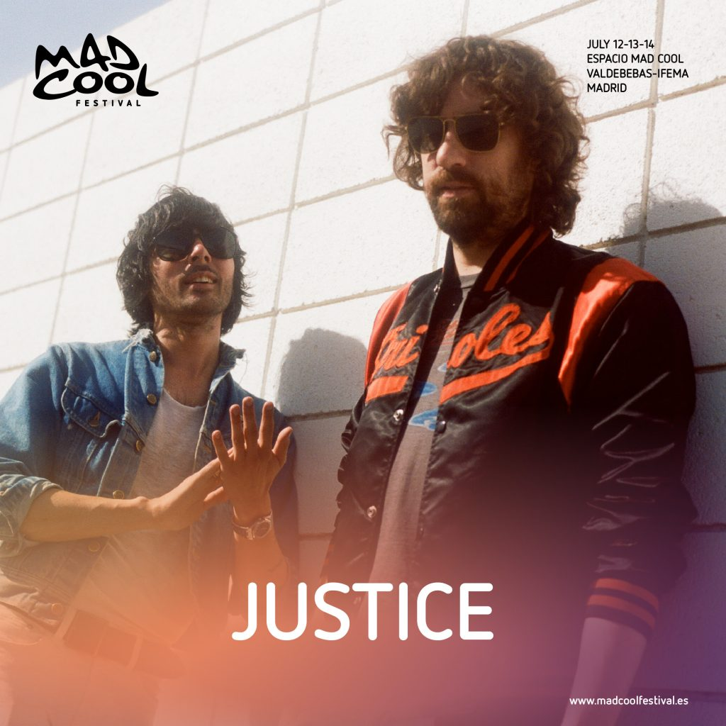 Los parisinos de Justice son la nueva confirmación de Mad Cool 2018