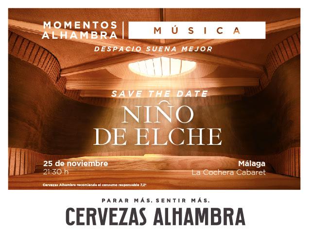 Momentos Alhambra música lleva las 'Voces del Extremo' de Niño de Elche a Córdoba y Málaga