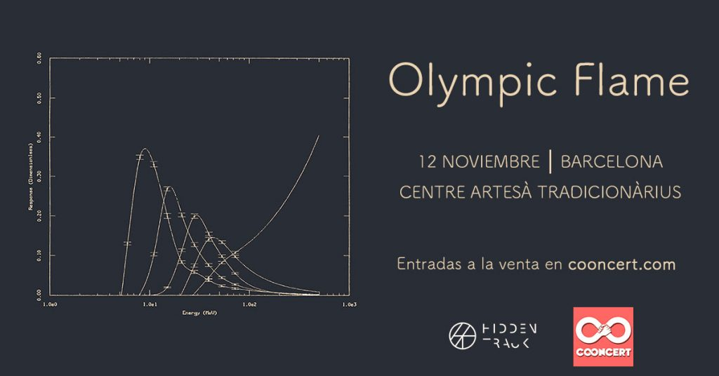 Olympic Flame presentan su pop atmosférico 12 de nov en Barcelona (Hidden Track Records)