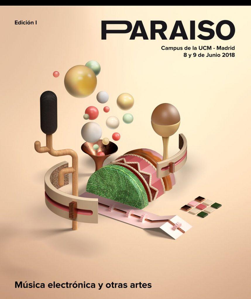 Paraíso : la electrónica se instala en Madrid en junio
