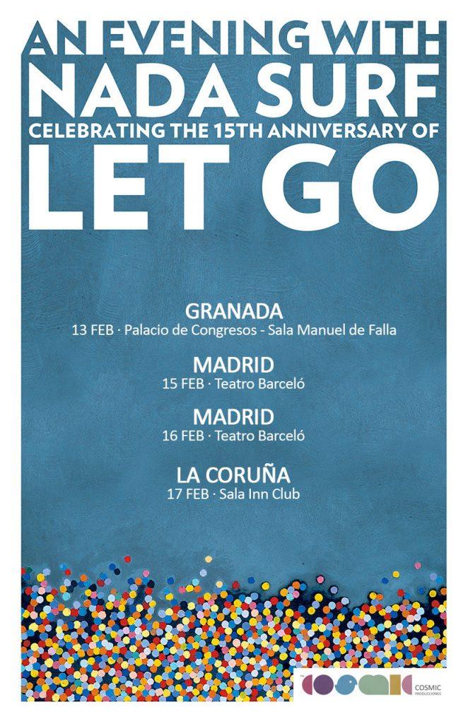 Nada Surf gira aniversario Let Go