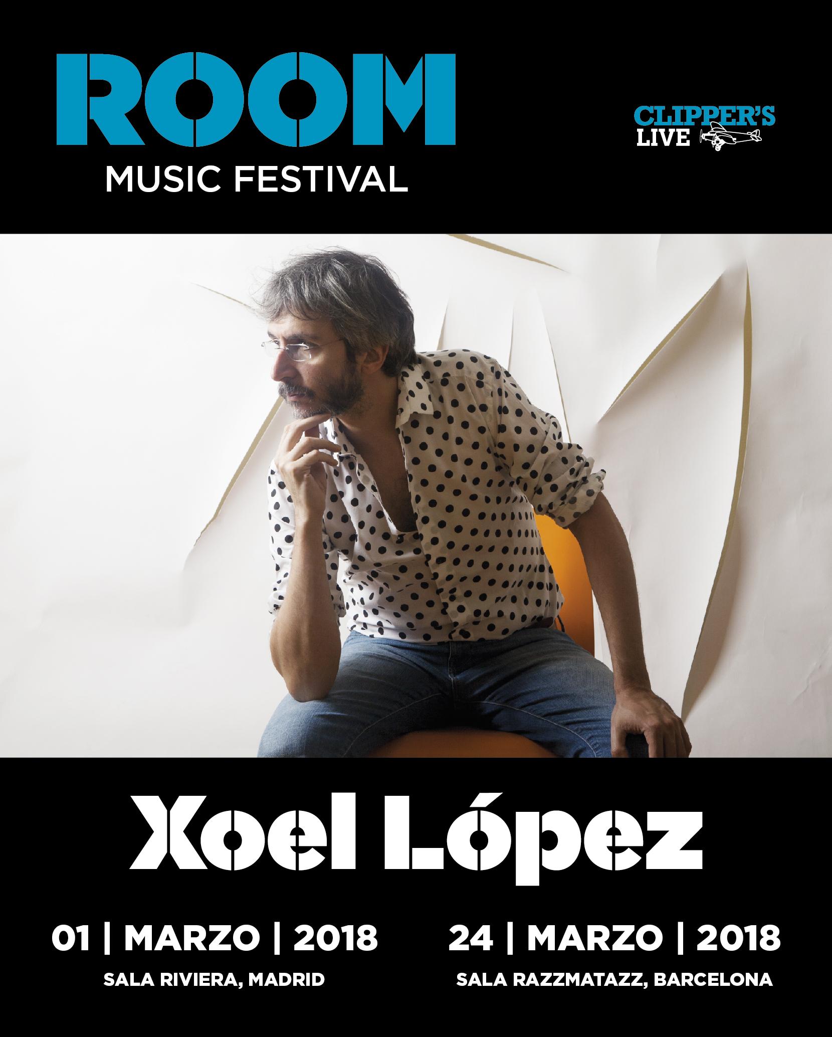 Xoel Room Festival MadridBCN